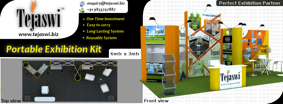 Portable And Reusable Exhibition Kit : Meter portable exhibition kit