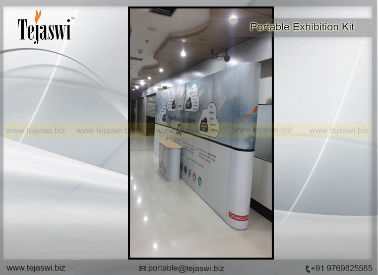 Portable Exhibition Stands In Dubai : Portable backdrop reusable india uae dubai