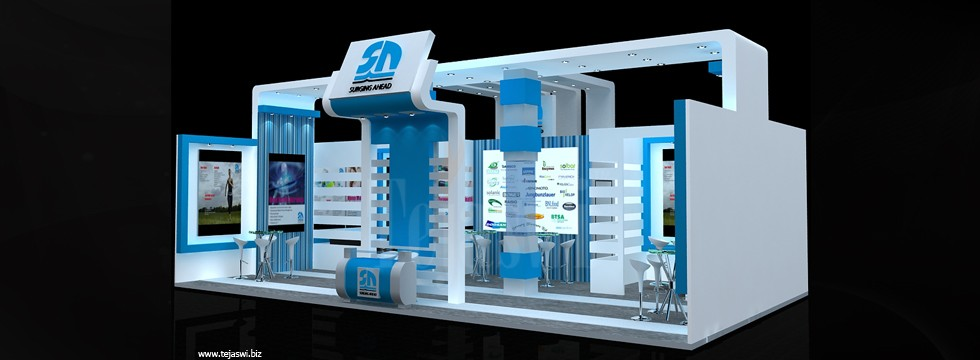 Exhibition Stand Backdrop : Corporate exhibition stall design business