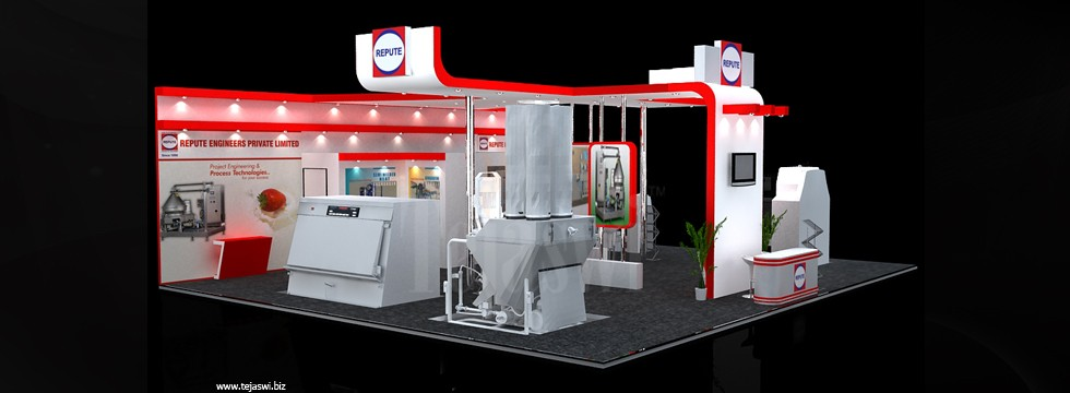 Exhibition Stall Requirements : Corporate exhibition stall design business