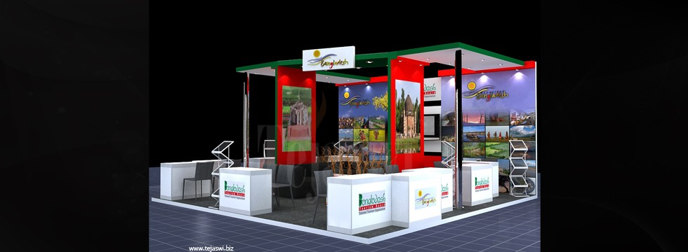 Corporate Exhibition Stall Design Business Exhibition