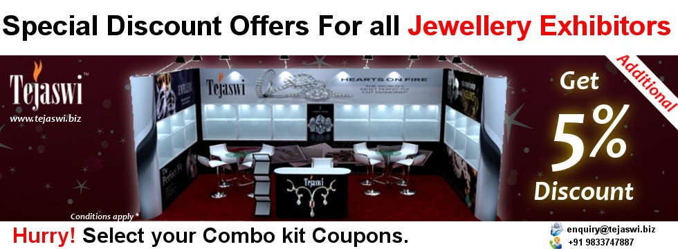 Portable Jewellery Exhibition Discount Combo kit coupon
