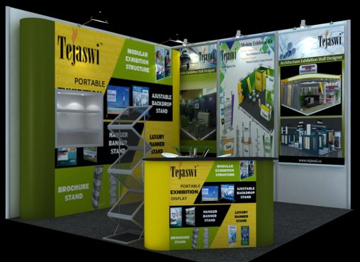 3 meter x 3 meter Portable Exhibition Stall