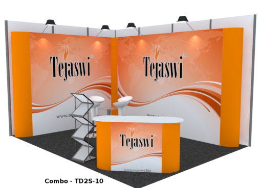 4 meter x 3 meter Portable Exhibition Stall