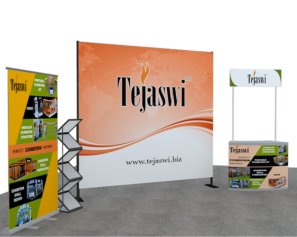 Portable Exhibition Stall : Portable combo kit exhibition