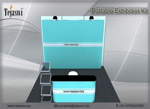 3 mtr x 3 mtr Portable Exhibition Kit 3 Side Open (3)