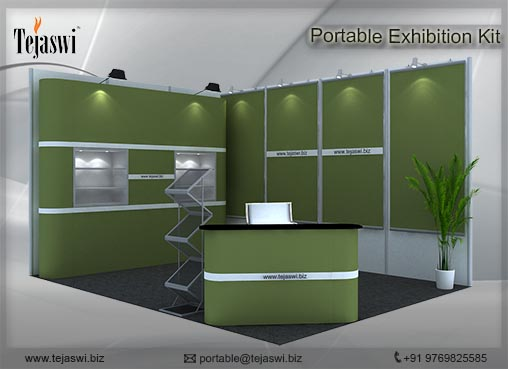 Portable Exhibition Stall : Portable exhibition stall combo s