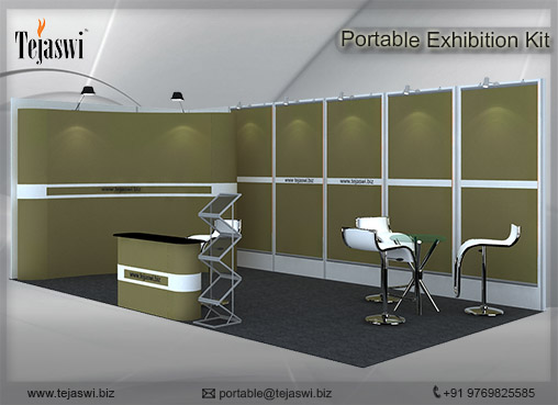 Exhibition Stall Rates : Meter portable expo booth s square