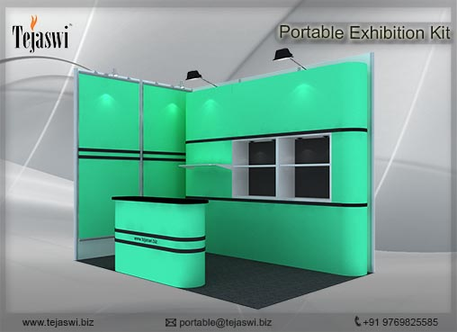 2 mtr x 3 mtr Portable Exhibition kit 2 side open (3)