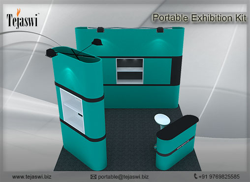 3 mtr x3  mtr Portable Exhibition kit 3 side open (3)