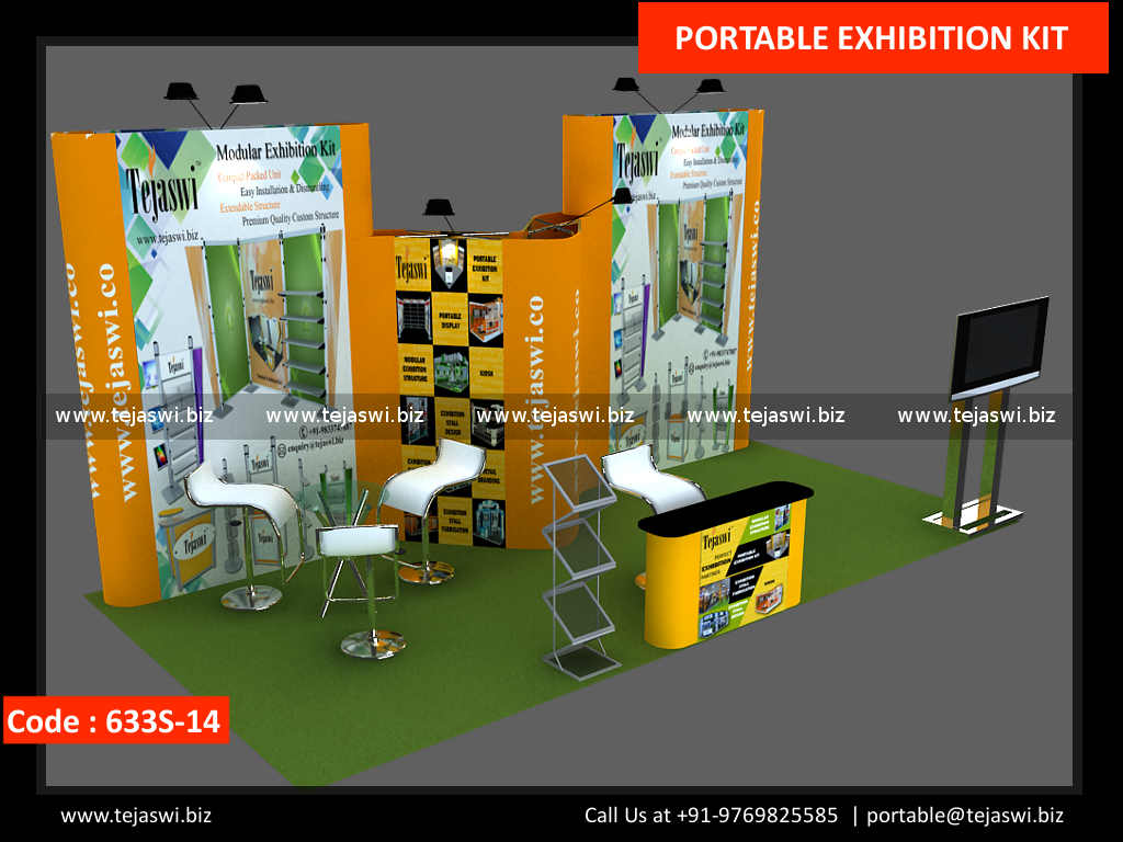 Portable Exhibition Kit Price : Meter portable exhibition booth s