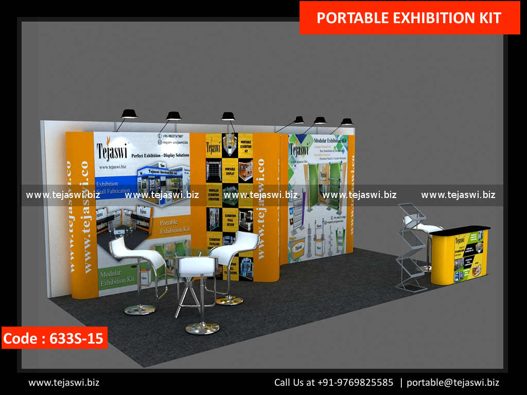6 Meter x 3 Meter Portable Expo Booth 633S-15