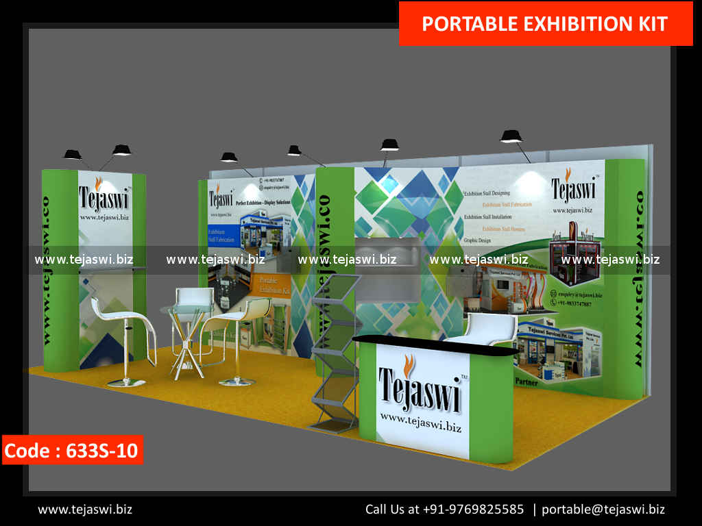Exhibition Stand Rates : Meter portable exhibition kit s