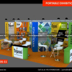 6 meter x 3 meter Portable Exhibition Stall