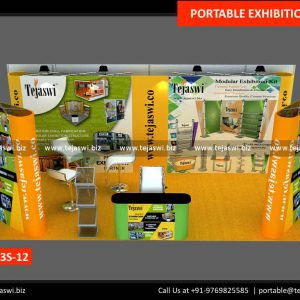 6 Meter x 3 Meter Portable Expo Kit 633S-12