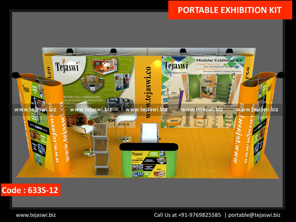 Exhibition Stand Kits : Meter portable expo kit s automation
