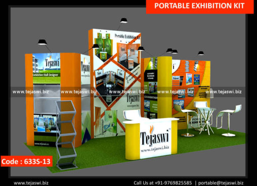 18 Square Meter Portable Expo Stand 633S-13