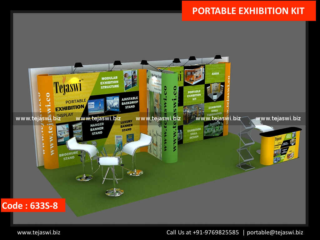 Portable Exhibition Kit In : Meter portable exhibition stand s