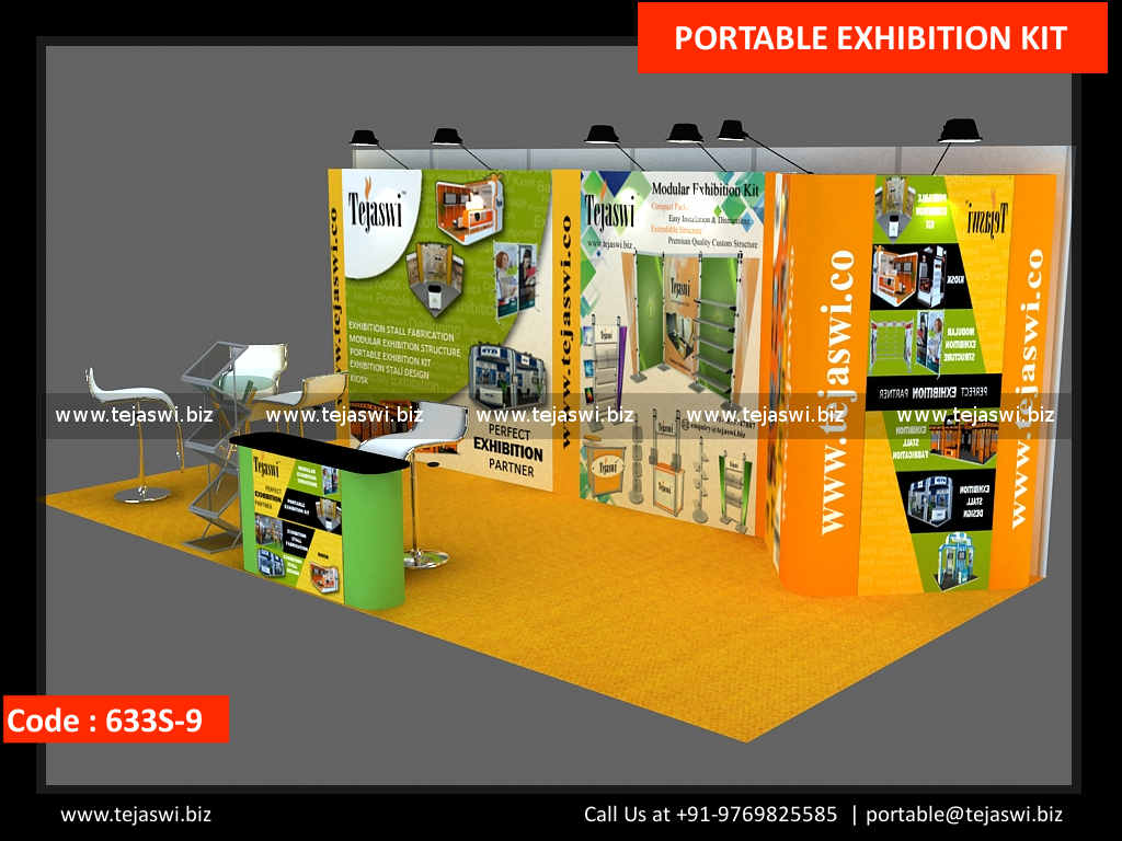 Portable Exhibition Stands Dubai : Meter portable exhibition stand s