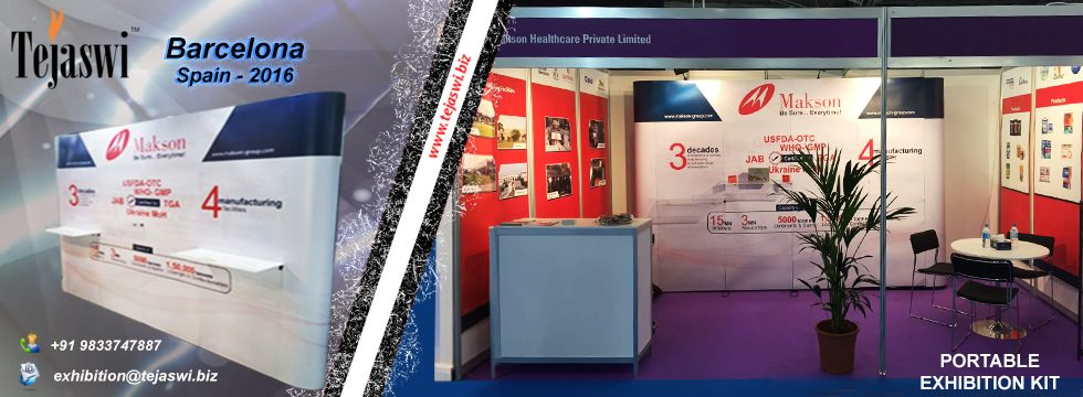 Jewellery Exhibition Stall : Portable exhibition kit stall india