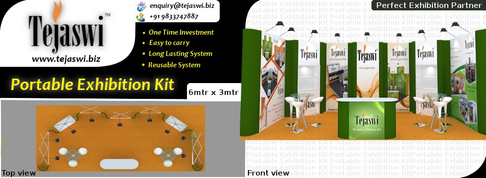6x3 Meter Portable Exhibition kit