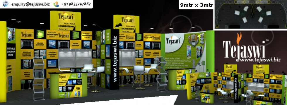 Stall Layout For Exhibition : Portable exhibition kit portable exhibition stall india mumbai
