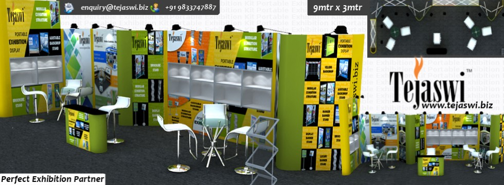 Portable Exhibition Kit Bangalore : Portable exhibition kit portable exhibition stall india mumbai