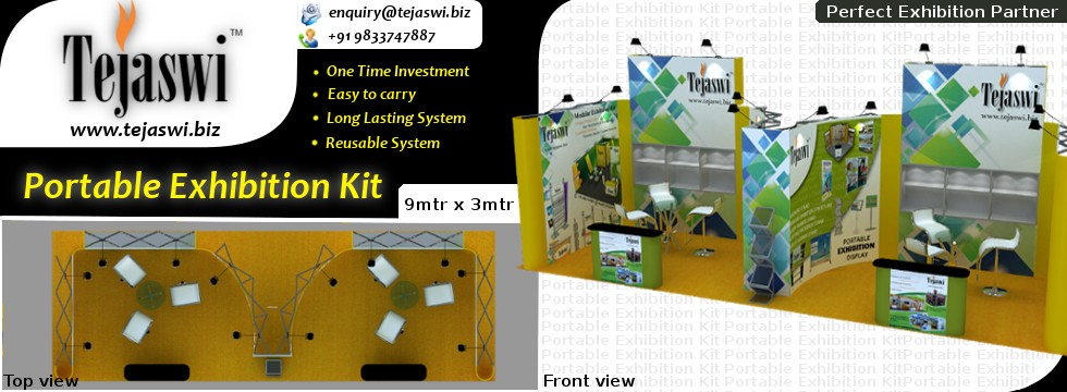 9x3 Meter Portable Exhibition kit