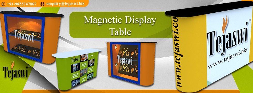 Portable Exhibition Counter : Portable display counter for events shows and exhibition design