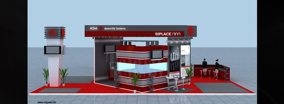 Corporate Exhibition Stall Design