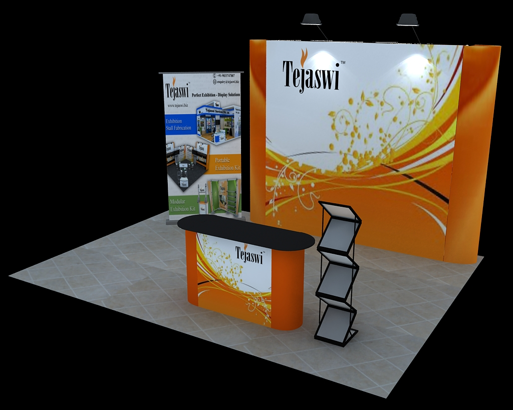 Portable Exhibition Kit Bangalore : Promotional canopy portable kiosk promotional kiosk stalls