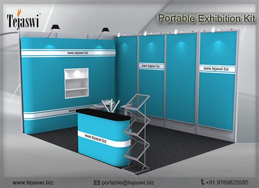 Portable Exhibition Kit : Portable exhibition stall combo s