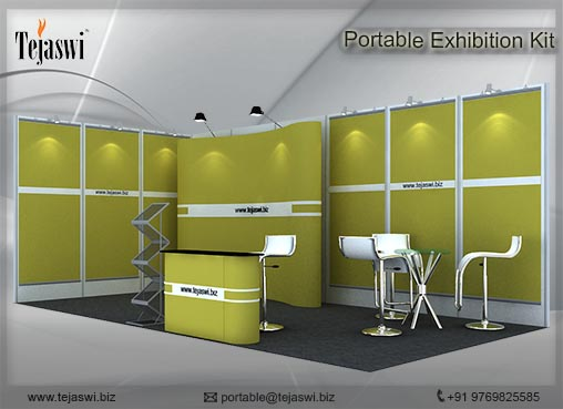 6 Meter x 3 Meter Portable Exhibition Kit 2 side open_632S-4