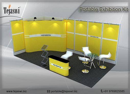 6 Meter x 3 Meter Portable Exhibition Kit_2 side open_632S-6