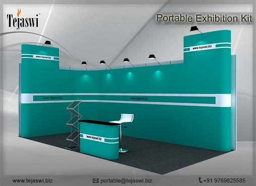6 Meter x 3 Meter Portable Exhibition Kit_2 side open_632S-7