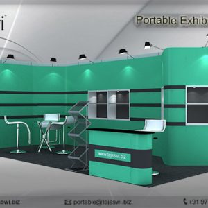 6 meter x 3 meter Portable exhibition kit 2 side_632S_8