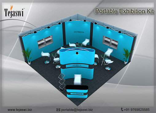 6 meter x 6 meter Portable Exhibition Stall