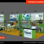 18 Square Meter Portable Exhibition Stand 633S-10