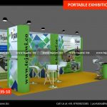 6 Meter x 3 Meter Portable Exhibition Stand 633S-10-3