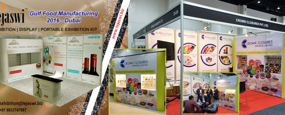 Gulf Food Manufacturing Dubai Portable Exhibition Kit
