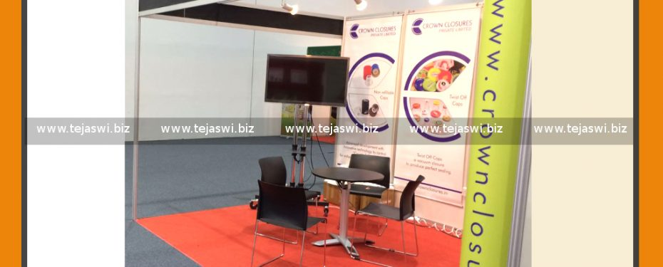 Portable Exhibition Kit Dubai Gulf Food Manufacturing
