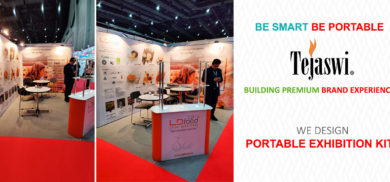 Portable Kit for Food Industry International Exhibition participation Fi Hi Europe 2019