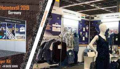 Portable affordable solution for Shell Scheme in Heimtextile 2019 Germany